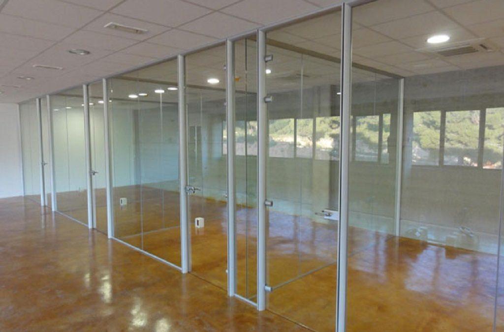 separar ambientes en oficinas